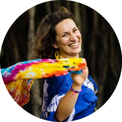 Marie Chiron professeur de yoga à Montesquieu-Volvestre ariège et haute garonne